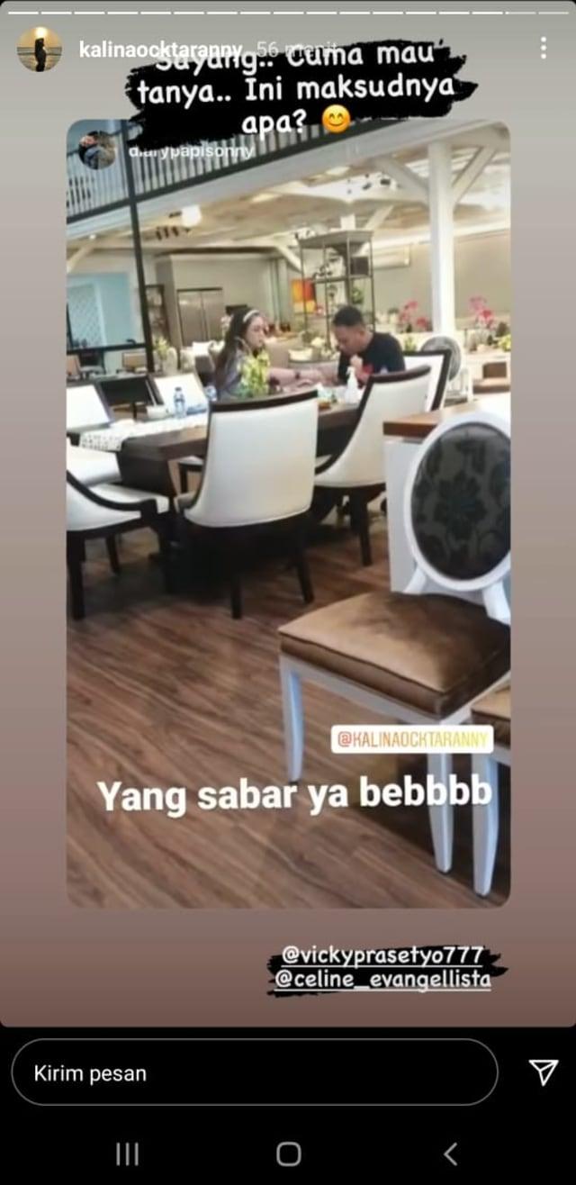 Kalina Unggah Video Vicky Prasetyo Sama Wanita Lain Sebelum Umumkan Batal Nikah (634975)