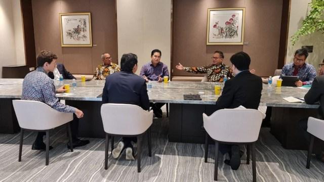 Temui 3 Pejabat Singapura, Erick Thohir Tawarkan Kerja Sama di 3 Sektor (126918)