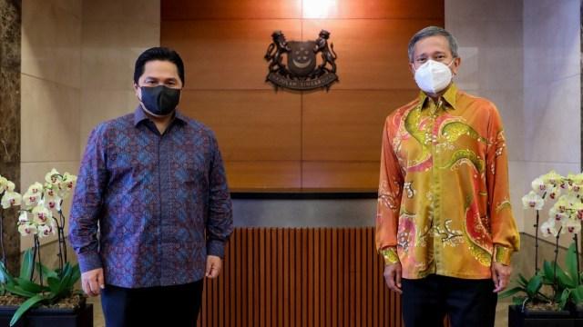 Temui 3 Pejabat Singapura, Erick Thohir Tawarkan Kerja Sama di 3 Sektor (126917)