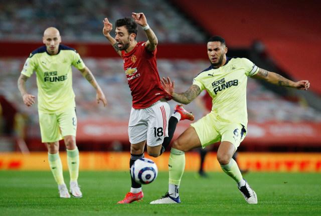 MU vs Newcastle: Iblis Merah Menang 3-1 di Old Trafford (20043)