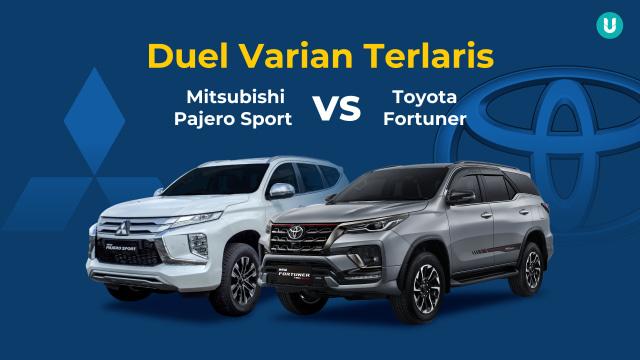 Duel Varian Terlaris Mitsubishi Pajero Sport vs Toyota Fortuner, Siapa Jagoanmu? (285047)