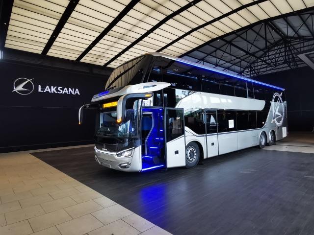 Bedah Fitur Mewah Bus Double Decker Laksana yang Diekspor ke Bangladesh (49675)