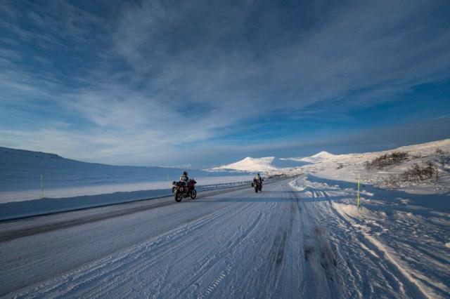 Foto: Momen Ducati Multistrada V4 'Disiksa' di Lingkaran Arktik Kutub Utara (173239)