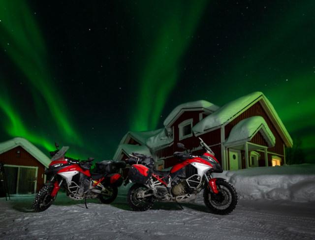 Perjalanan Epik Ducati Multistrada V4 Taklukkan Lingkaran Arktik Kutub Utara (50130)
