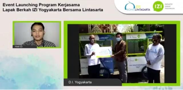 IZI Yogyakarta dan ZIS Rohis Lintasarta Bantu UMKM ditengah Pandemi (103565)
