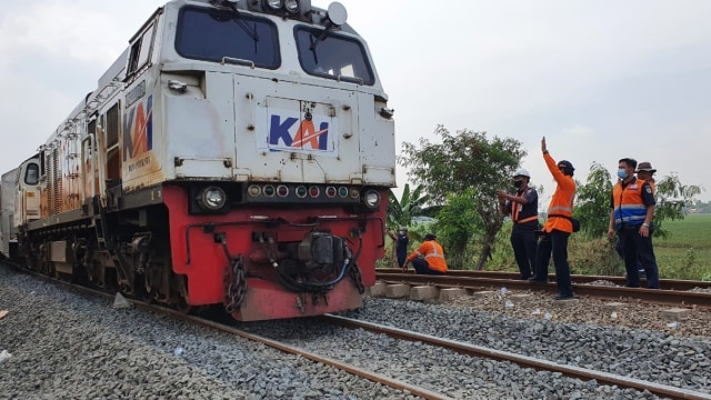 Sempat Terhenti Imbas Banjir, Keberangkatan Kereta dari Jakarta Kembali Normal (45607)