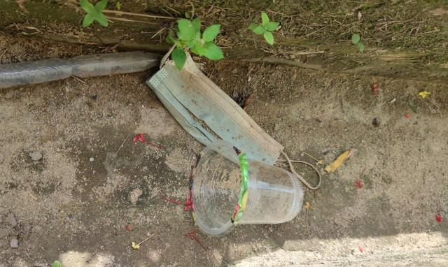 Limbah Masker di Kabupaten Bangka Selatan Masih Terabaikan (256849)
