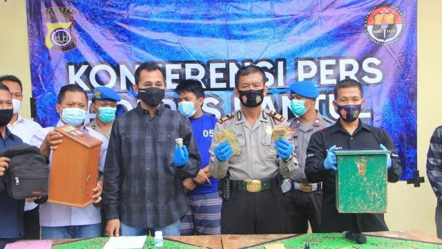 Pria Asal Riau di Bantul Ditangkap Polisi karena Curi Duit Kotak Amal Masjid (231268)