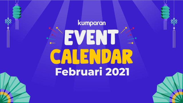 kumparan Event Calendar | Februari 2021 (37698)