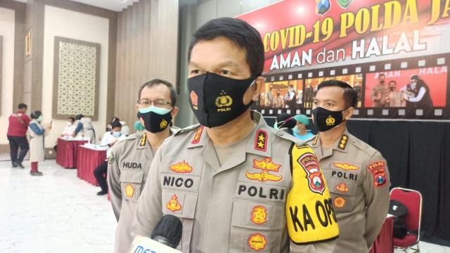 Polisi Dan Kiai Gelar Vaksinasi, Tingkatkan Herd Immunity Di Jawa Timur (59934)