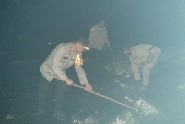 Kapolda Kepri Ikut Padamkan Api Karhutla di Galang (128989)