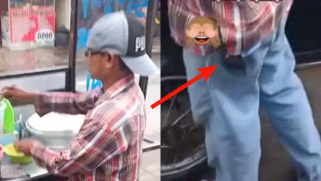 Penjual Siomai Kedapatan Bawa Barang Diduga HT, Warganet Curiga Dia Intel (10457)