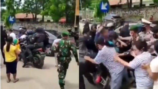 Viral Video Paspampres Terjatuh Diserbu Emak-emak saat Mengawal Jokowi di Sumba (32732)