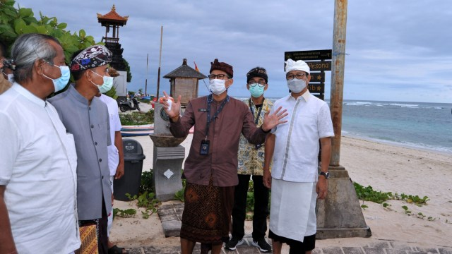 Vaksinasi Pelaku Parekraf Dilakukan di 5 Tempat Wisata di Bali (99842)