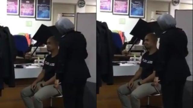 Kepala Botak Terlalu Silau, Pria Ini Kesulitan Ambil Foto untuk Paspor (80684)
