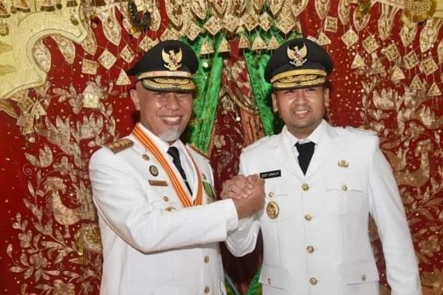 Sah, Mahyeldi dan Audy Jadi Gubernur dan Wakil Gubernur Sumbar 2021-2024 (30112)