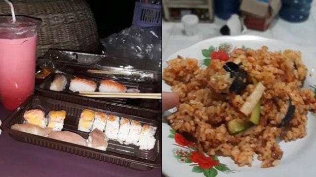 Gak Doyan, Warganet Ini Bongkar Sushi dan Memasaknya Jadi Lebih Kearifan Lokal (1242888)