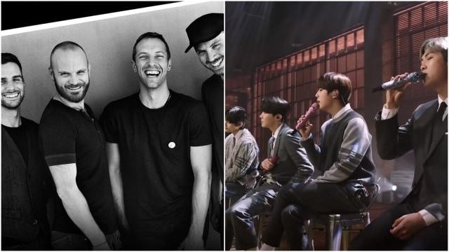 Coldplay, Band yang Protektif sama Lagunya tapi Izinkan BTS Cover Fix You (462009)