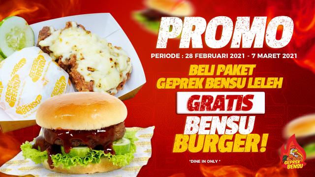 Geprek Bensu Rilis Menu Burger, Penasaran Rasanya? (293479)