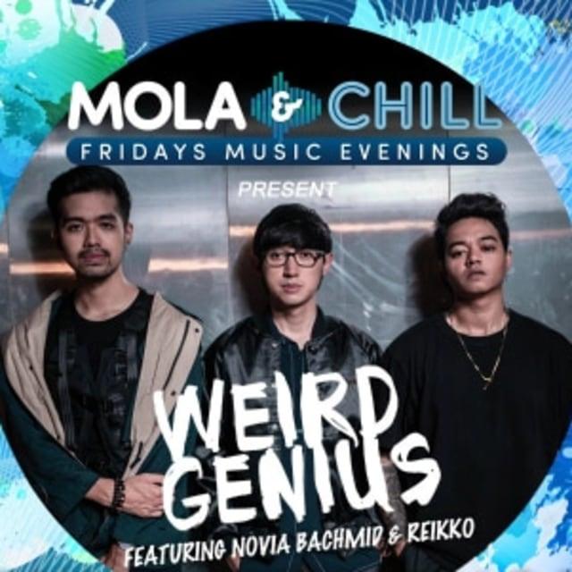 Seru dan Santainya Weird Genius dan Prep di Mola & Chill Fridays Music Evenings (250600)