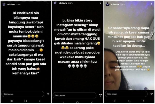 Laura Anna Sindir Gaga Muhammad Tak Tanggung Jawab: Muka Tembok Ini Manusia (51037)
