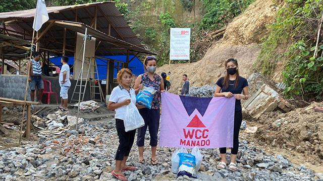 Women Cycling Community Manado Kembali Salurkan Bantuan untuk Korban Bencana (2419)