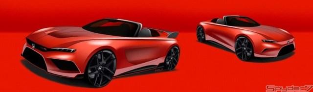 Honda Akan Bangkitkan Roadster Legendaris S2000, Inilah Terkaan Desainnya (201064)