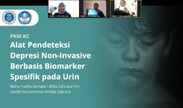 Maha Yudha Samawi, Alifia Zahratul Ilmi, dan Gardin M. Andika Saputra dok ITB