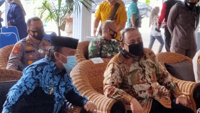 Islah Menguat, Wali Kota Tegal Bersama Wakil Duduk Berdampingan di Acara TMMD   (13978)