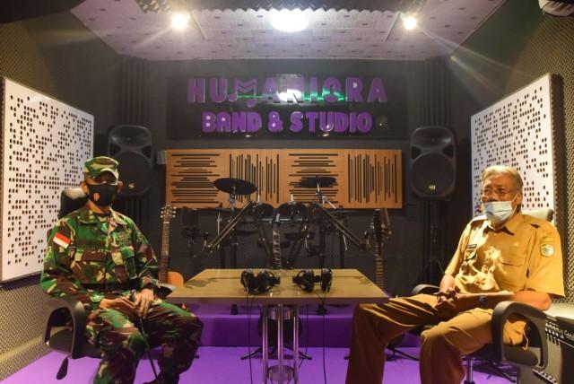 Dandim Sintang Bangun Studio Musik, Bupati: Sangat Bermanfaat untuk Anak Muda (34251)