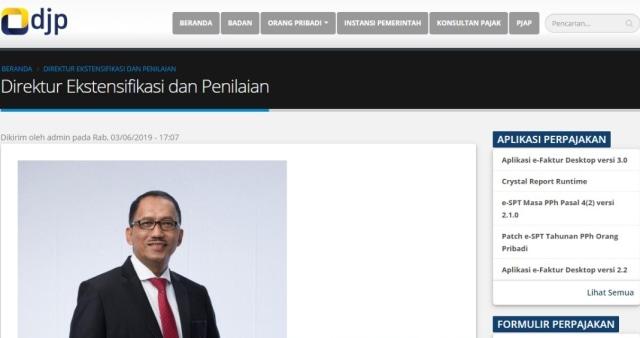 Profil Direktur Pajak yang Namanya Hilang Usai Sri Mulyani Bicara Kasus Suap (2)