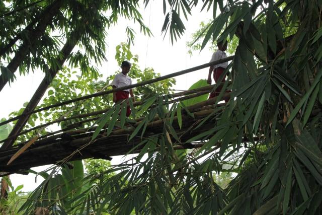 Berusia 50 Tahun dan Belum Pernah Dipugar, Jembatan Mekarjaya Selesai Dibangun (27307)