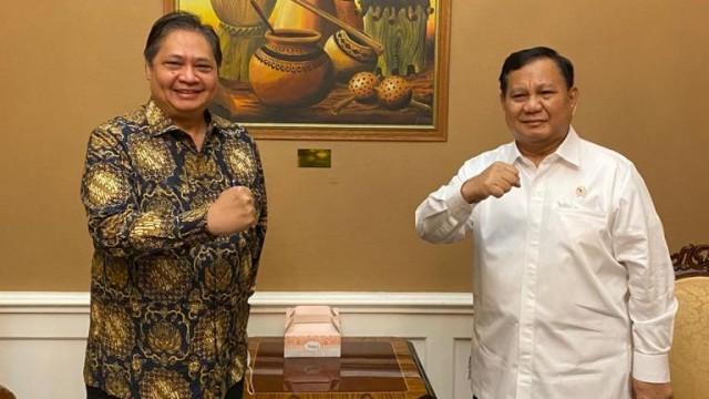 Silaturahmi Politik, Airlangga Bertemu Prabowo dan Suharso Monoarfa (250969)