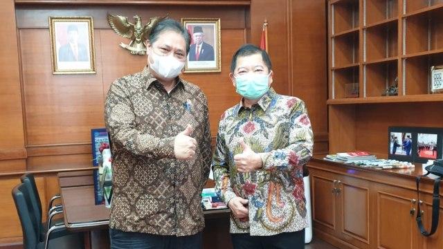 Silaturahmi Politik, Airlangga Bertemu Prabowo dan Suharso Monoarfa (250970)