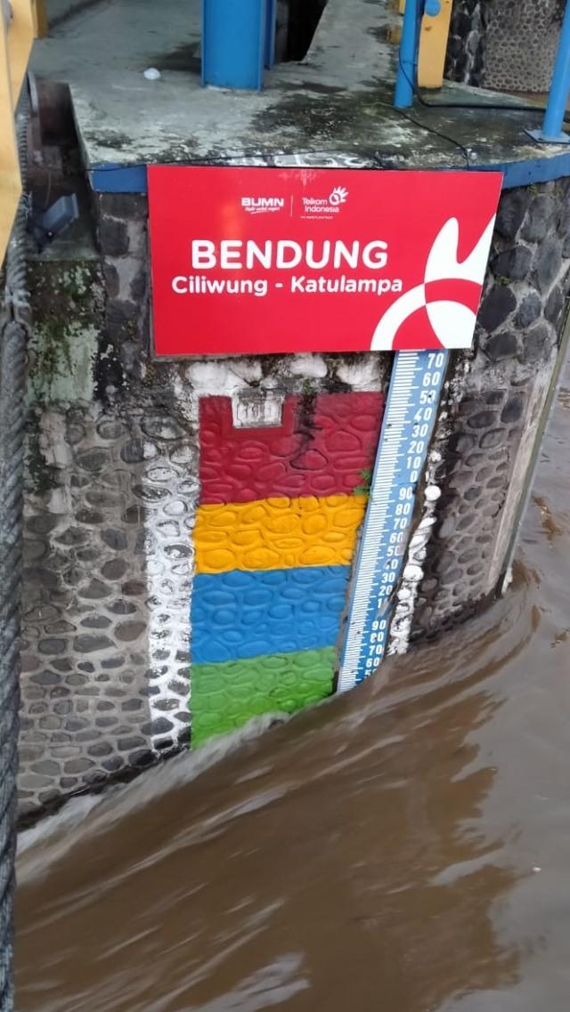Bogor Diguyur Hujan Deras, Bendung Katulampa Siaga IV (70865)