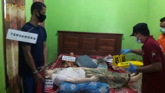 Ini Wajah Pelaku Pembunuhan Satu Keluarga Padepokan Seni di Rembang (160007)