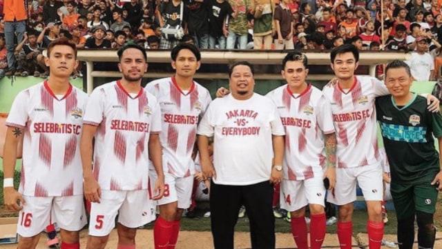 Selebritis FC Sudah Rilis Skuad, Izin Malah Tak Keluar (11714)