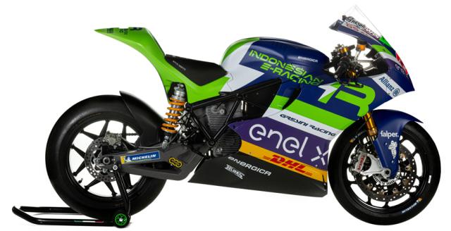 Intip Tampilan Motor Listrik Balap Indonesian E-Racing di Gelaran MotoE (438997)