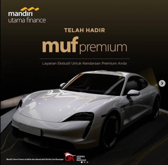 MUF Premium, Layanan Pembiayaan Mandiri Utama Finance buat Mobil Mewah (183674)