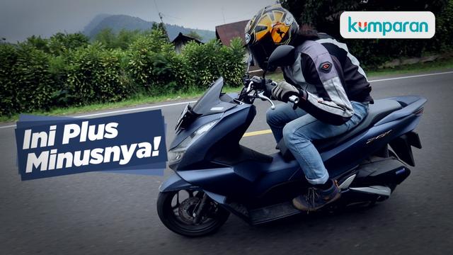 Video: 245 Kilometer Pertama dengan Honda PCX 160, Ini Plus Minusnya! (37908)