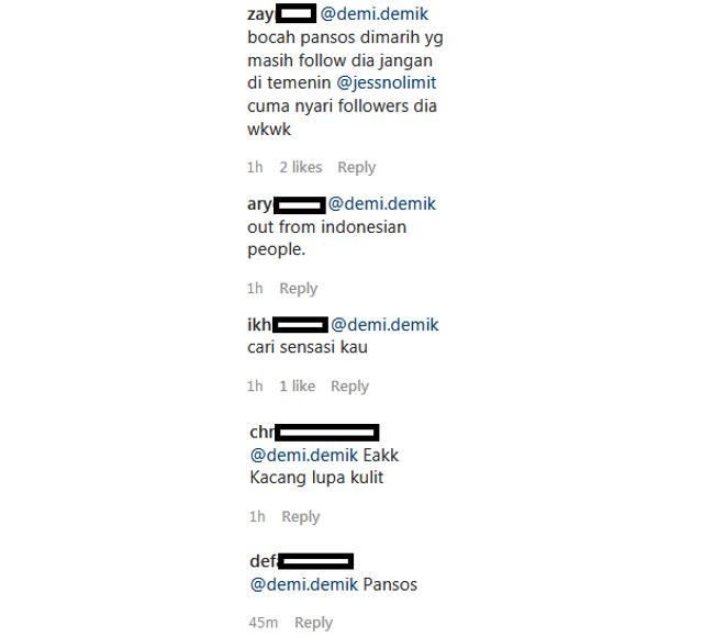 Komentari Unggahan Jess No Limit, Dayana Dinyinyir Netizen (53986)