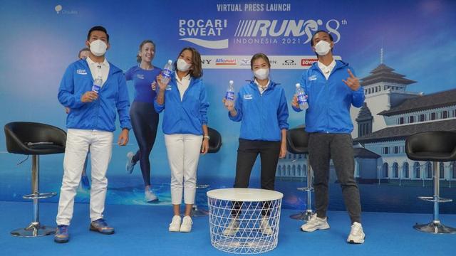 Event Lari Pocari Sweat 2021 Targetkan 100 ribu Pelari (92450)