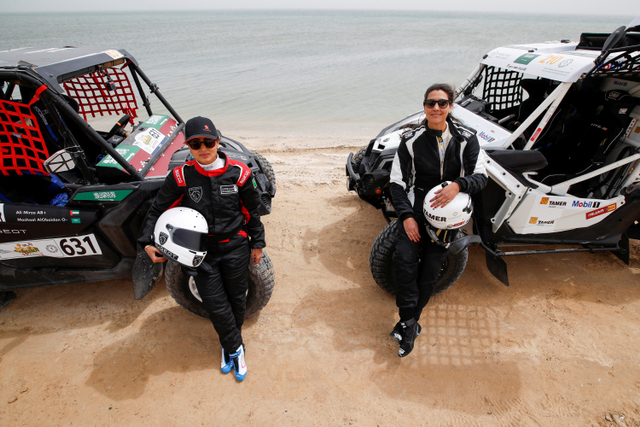 Foto: Dua Pebalap Reli Wanita Pertama dari Arab Saudi (598833)