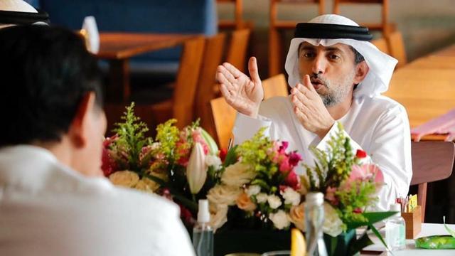 Setelah Jadi Nama Jalan, Pangeran Emirat Arab Akan Investasi Pabrik Vaksin di RI (1131)