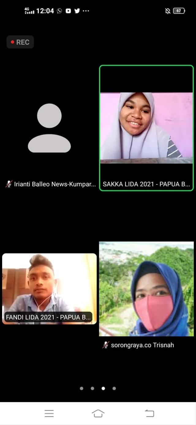 Fandi dan Sakka Terpilih Sebagai Duta Perwakilan Papua Barat LIDA 2021 (218717)