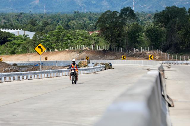 Satu Lagi Ruas Jalan Tol Aceh Mulai Beroperasi (53542)