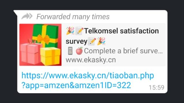 Waspada Link Survei Telkomsel Palsu Berhadiah iPhone 12 Pro, Ini Faktanya (362421)