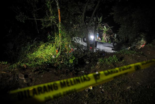 Sopir Bus Kecelakaan Maut di Sumedang Jadi Tersangka, tapi SP3 karena Tewas (402024)