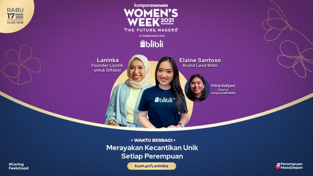 Live Now! Talk Series Eps 2: Merayakan Kecantikan Unik Setiap Perempuan (133957)