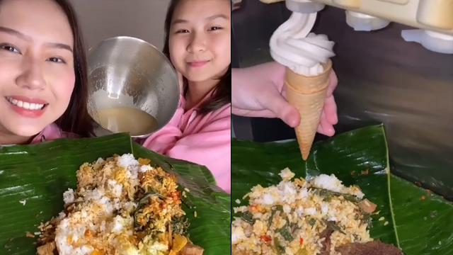 Viral, Cewek Blender Nasi Padang Dibikin Es Krim dengan Topping Rendang -  kumparan.com